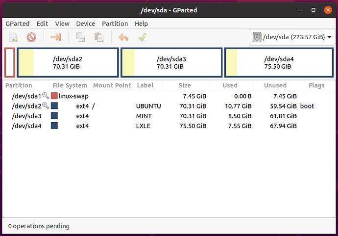 Three Distro SSD