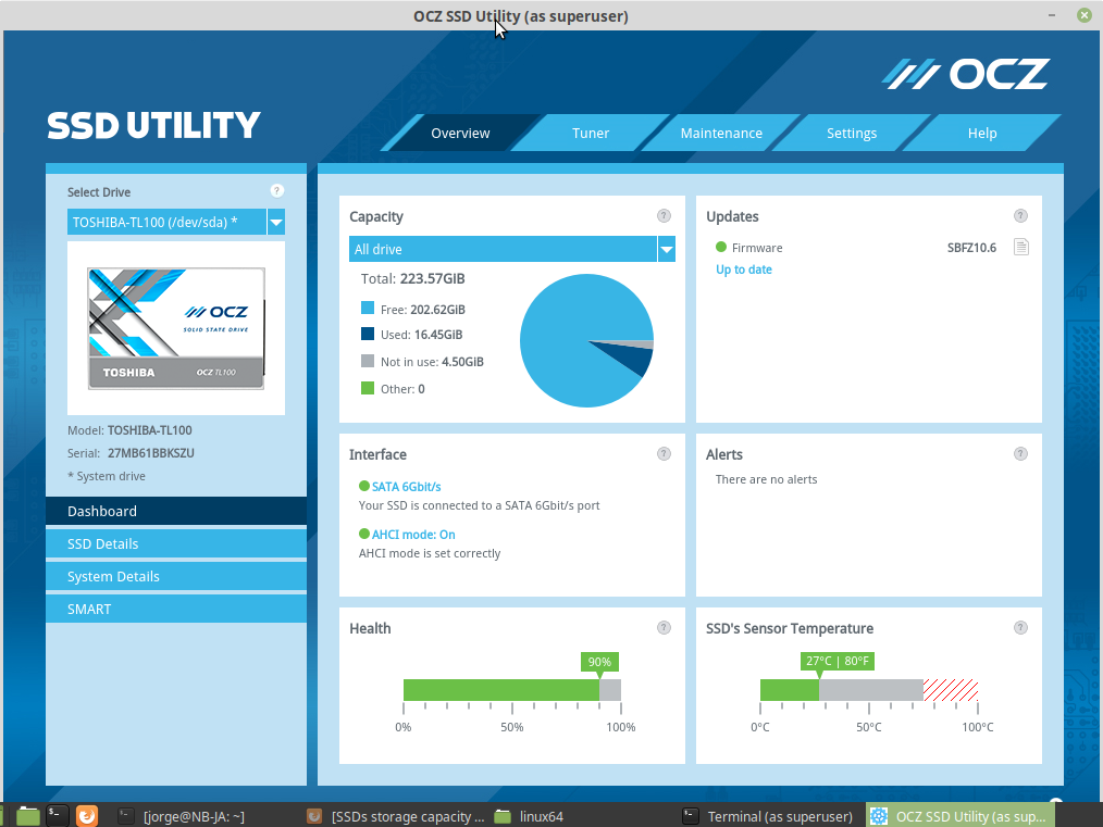 SSDs storage capacity - Hardware - It's FOSS Community