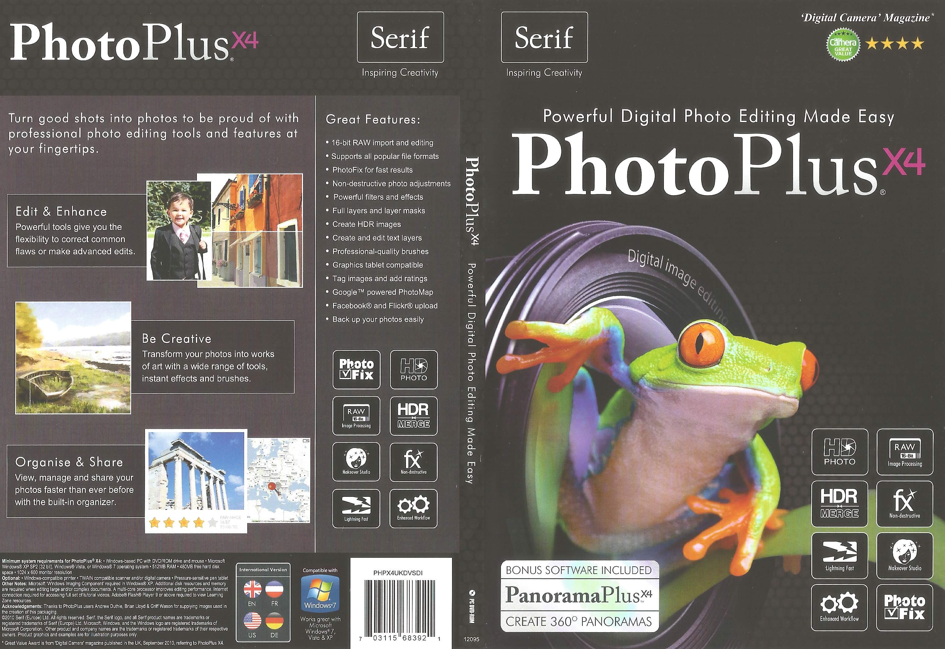PhotoPlusX4