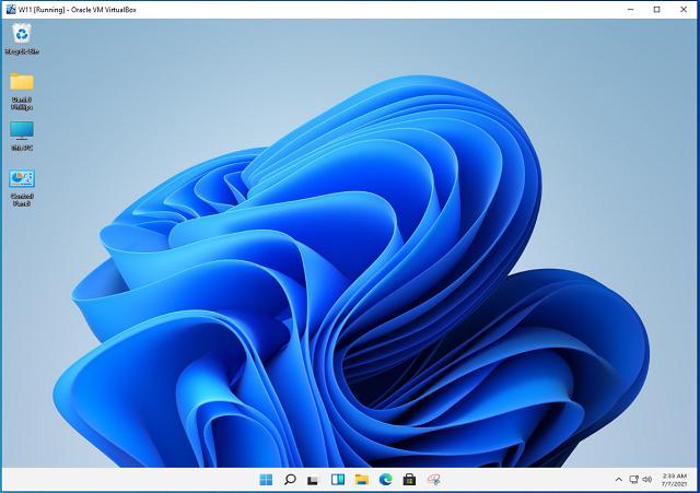 W11 Desktop